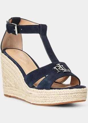 Шикарные босоножки от ralph lauren женская обувь ralph lauren - оригинал!
