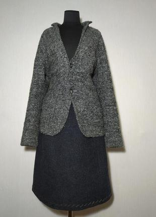 Шерстяная юбка prada milano
