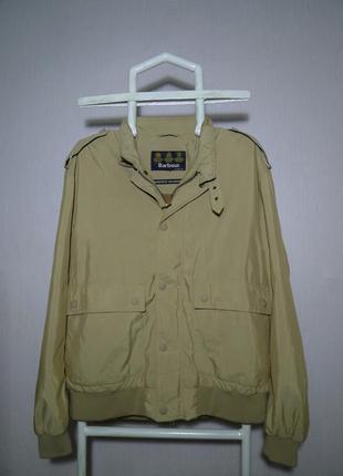 Куртка barbour lightweight metallic flyer