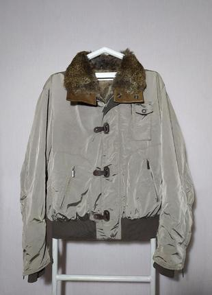 Rindi мужская куртка итальянского премиум бренда zilli billionaire