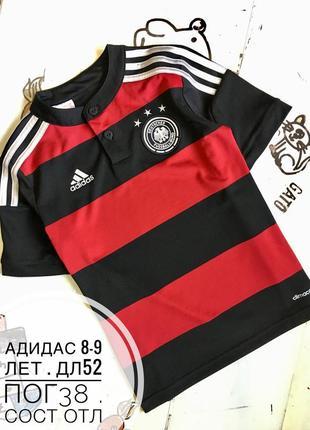 Adidas футболка 8-9 лет