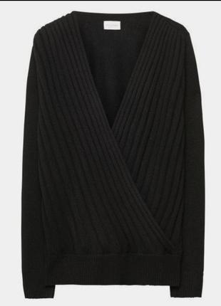 Винтажный теплый свитер, шерсть/ангора