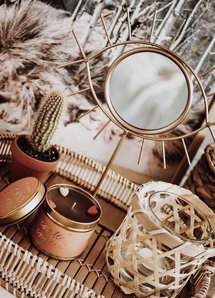 Зеркало 21*25 см очень красивое глаз