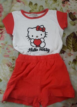 Пижама піжама hello kitty
