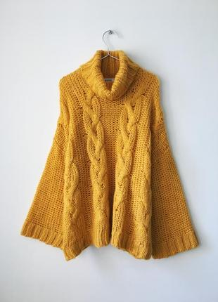 Модный тёпло-оранжевый свитер asos missguided 2020 🔥 желто-оранжевый свитер оверсайз