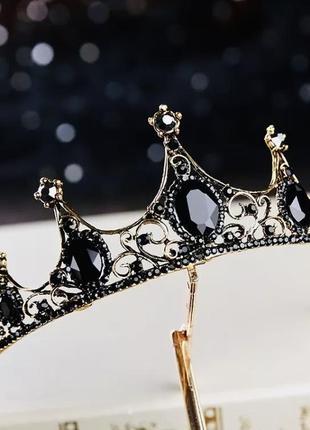 Диадема/тиара/корона черного цвета