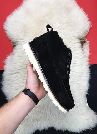 Угги классика чёрные низкие ugg classic short black