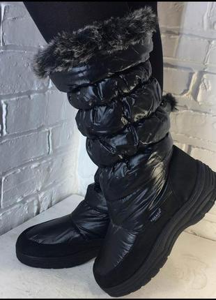 Зимние сапоги дутики