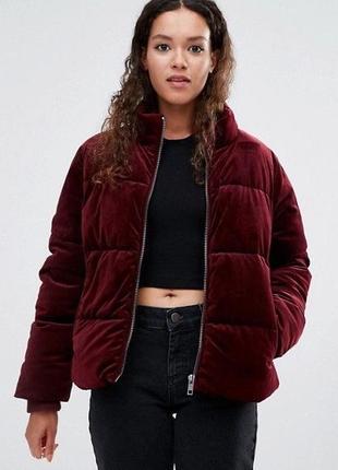 Новая куртка,курточка бархатная,велюровая,плюшевая,зефирка,дутик,пуффер с капюшоном