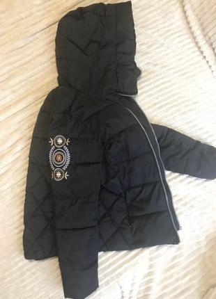 Тёплая куртка на холлофайбере
