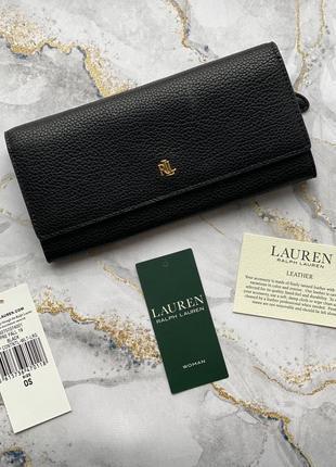Ralph lauren кошелек кожа натуральная polo оригинал