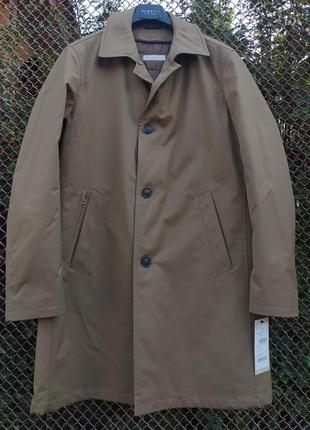 Утепленное плащ-пальто bugatti