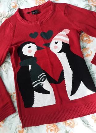 Обалденный новогодний свитер