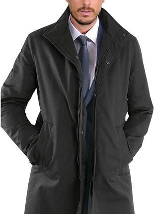 Утепленное плащ-пальто на подкладке bugatti