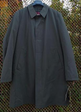 Утепленное пальто плащ bugatti