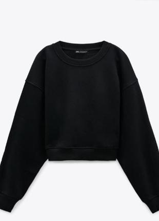 Укороченный свитер zara