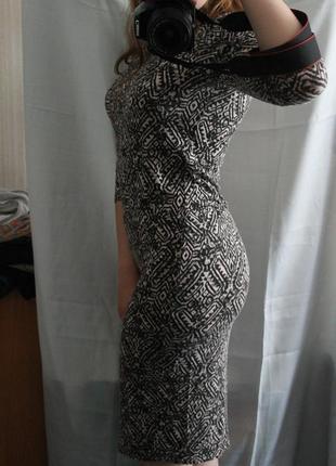 Платье миди міді длинное
