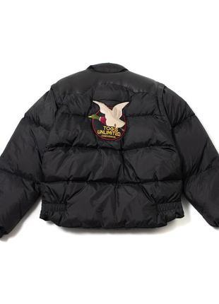 Vintage chevignon togs unlimited down jacket мужской пуховик (куртка + жилетка)