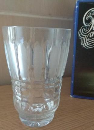 Хрустальные стакан
