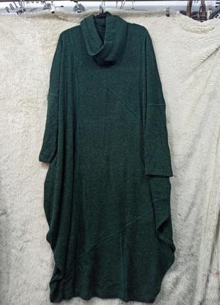 Креативное платье в стиле бохо