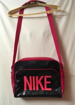 Nike heritage ad track messenger bag/ молодёжная спортивная сумка/ мессенджер