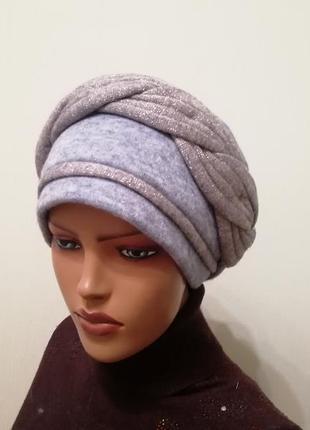 Красивая чалма шапка 56-58