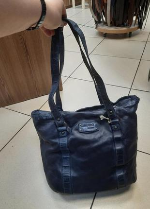 Женская кожаная сумка gianni conti