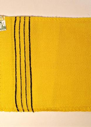 Мочалка sungbo cleamy для душа из вискозы clean & beauty viscose squared bath towel
