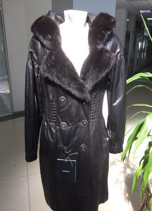 Кожаное пальто harmanli