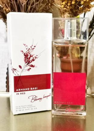 Оригинал 🔺armand basi in red blooming bouquet, 100мл парфюм духи