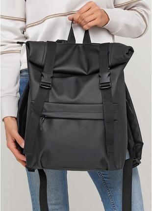 Трендовий рюкзак рол жіночий екошкіра