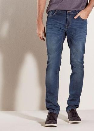 Синие джинсы размер l 50 euro livergy германия slim fit