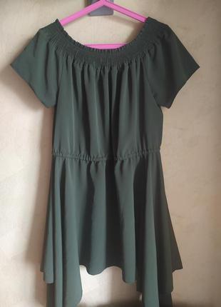 Батал большой размер шикарное стильное платье пляття