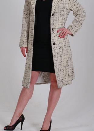 Стильное пальто panter из шерсти высочайшего качества! размер m (38)