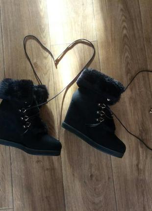 Ботинки pull&bear  осень/зима, новые