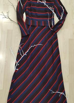Довга сукня, 36 р., осінь, зима. вовна (шерсть)