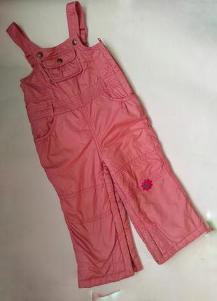 Полукомбинезон комбинезон штаны на лямках деми зима