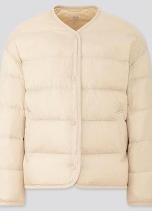 Ультралегкая куртка - пуховик uniqlo