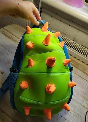 Классный детский рюкзак шипастик nohoo