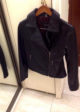 Нова.куртка косуха шкіра люкс бренду attraction 100% leather usa оригінал