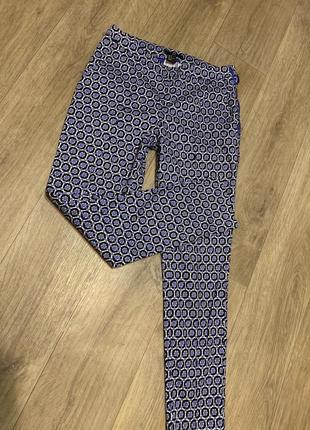 Фирменные укорочённые штаны скины