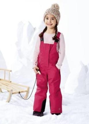 Лыжные штаны, полукомбинезон зимний