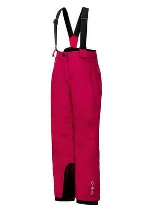 Лыжные зимние штаны, полукомбинезон
