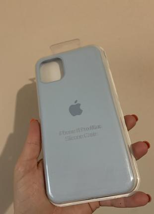 Silicone case чехол на iphone 11 pro maх