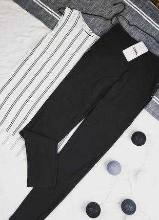 Новые стрейчевые брюки штаны треггинсы sinsay