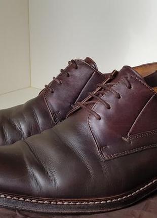 Lloyd туфли дерби с декоративной строчкой