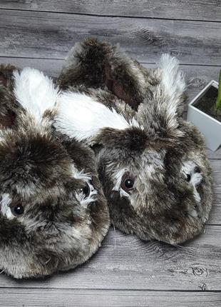 Тапочки зайцы