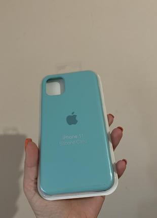 Silicone case чехол на iphone 11