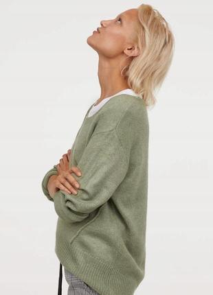 Розовый свитер hm9 фото