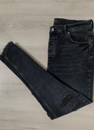 Шикарні чоловічі стрейчеві джинси від zara man denim stretch
